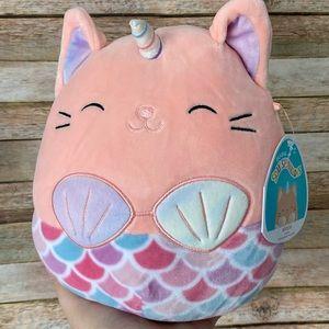 Squishmallow Mitzie The Mermaid Cat NEW